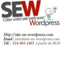 Création de site internet montréal et région